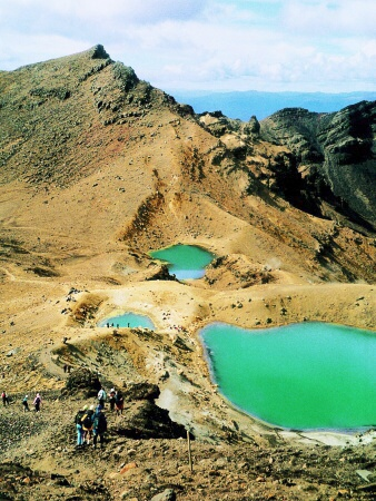 z túry Tongariro Crossing